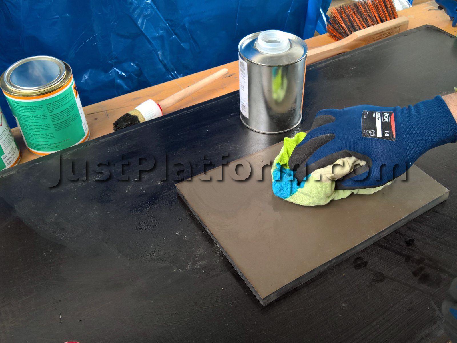 zweikomponenten klebstoff f r kaltverbindung von f rderb ndern trs 4004. Black Bedroom Furniture Sets. Home Design Ideas